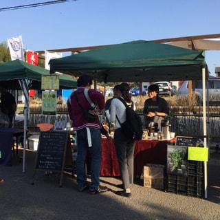 11月3日から6日、美山祭りでハーブティーを販売しました。朝マルシェのお店は毎日変わり、食を通していろいろな話が出来て良かったです。購入して頂いた皆様ありがとうございました。