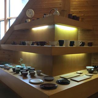 美山陶遊館でハーブティーの販売を開始しました。